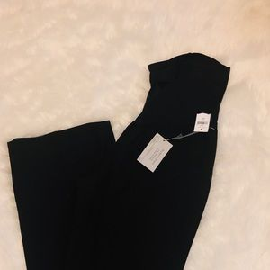GAP 2R MATERNITY Modern Boot Black Pants Slack NEW